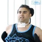 C5-C6 Spinal Cord Injury Patient Randeep - Epidural Stimulation