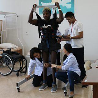 Spinal Cord Injury Patient Brinston