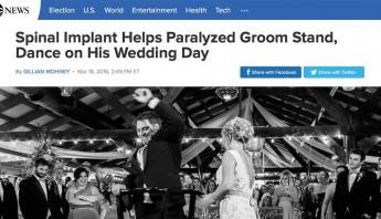 Spinal Implant Helps Kent Stephenson - Epidural Stimulation