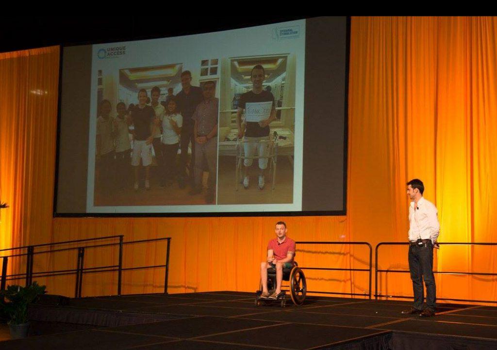 Andrew's main-stage presentation on epidural stimulation