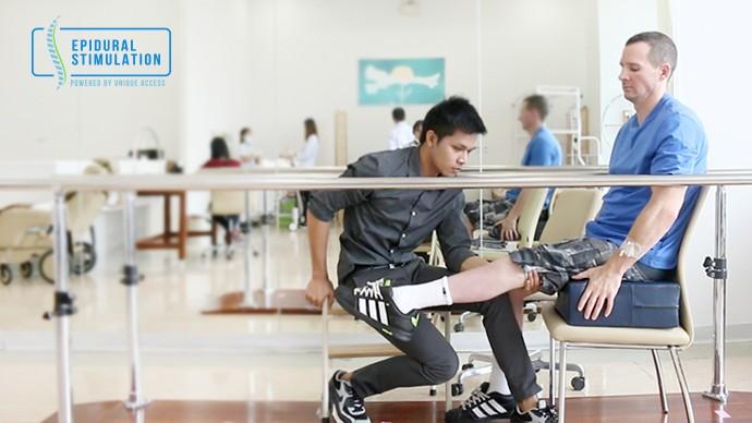 C7 Spinal Cord Injury Patient Isaac - Epidural Stimulation
