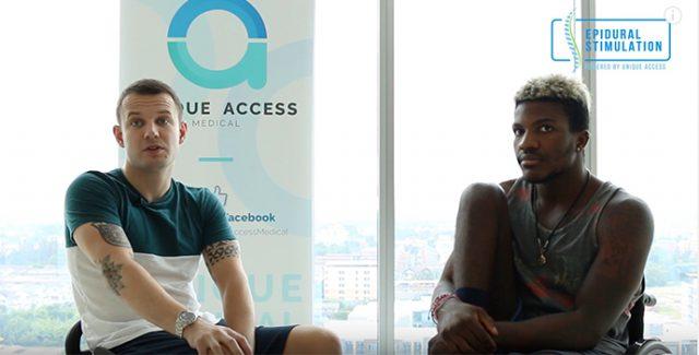 Andrew and Brinston Interview - Epidural Stimulation