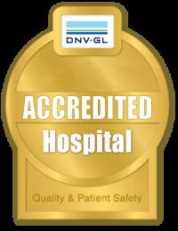 DNV Accredited Hospital Logo