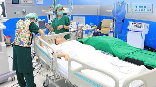 C5-C5 Spinal Cord Injury Patient Gabi - Epidural Stimulation