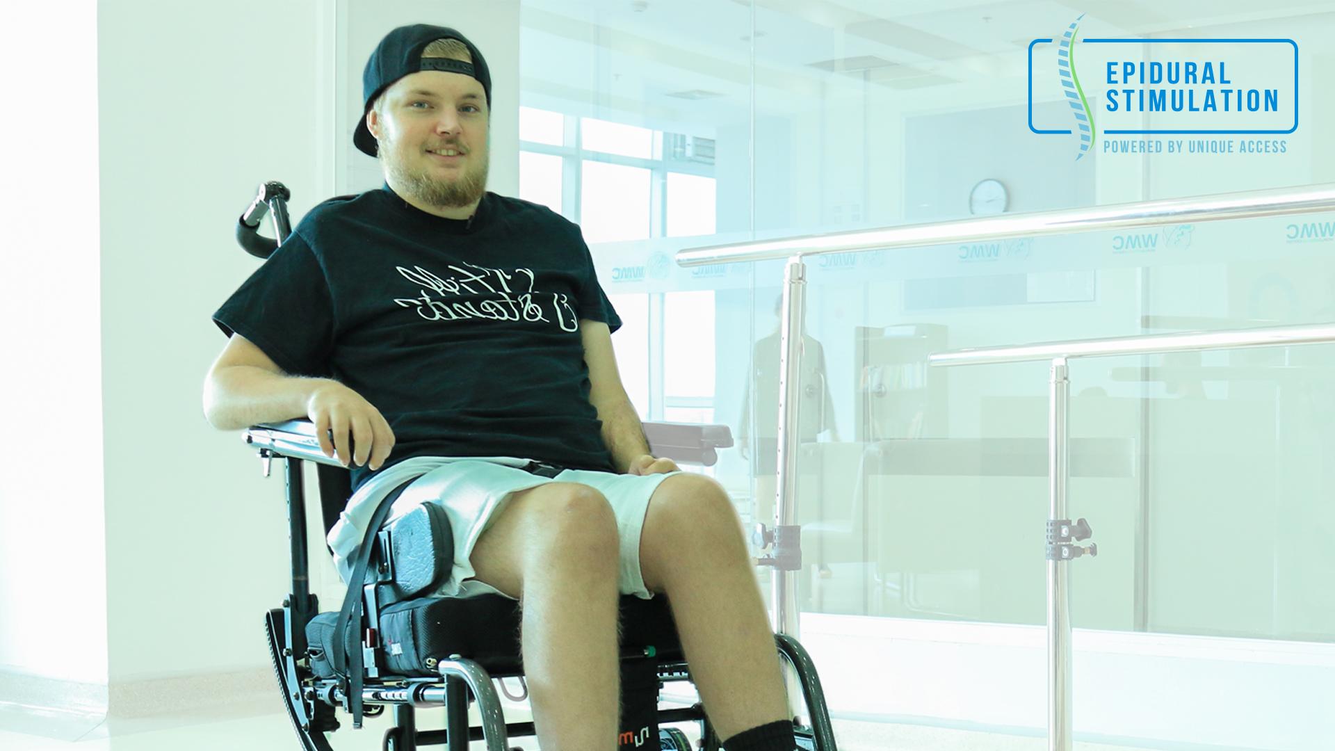 Payton Smith, C4 Spinal Cord Injury