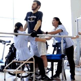 Spinal Cord Injury Patient Andrew Valadka Epidural Stimulation