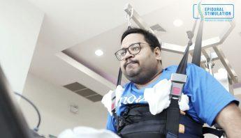 Vishnu's Fight Against C7 Spinal Cord Injury with Epidural Stimulation