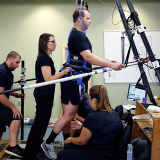 Electrical stimulation has promised huge gains for people with paralysis. Now comes the hard part — getting beyond those first steps.