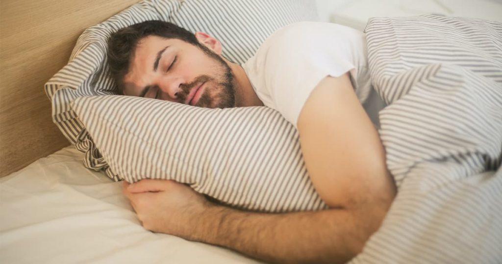 SCI patient sleeping